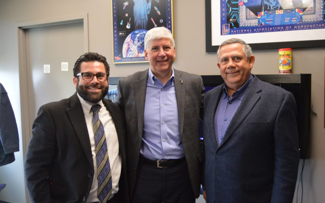 Governor Snyder Visits Ideal Group