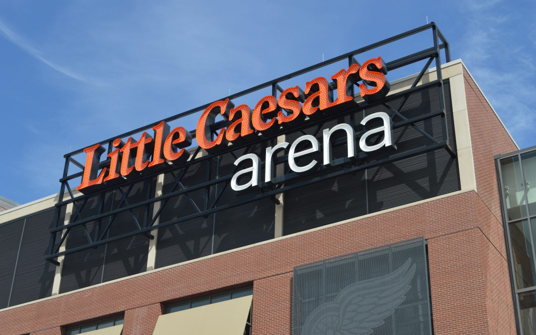 Where to Spot Ideal Steel Around Little Caesars Arena