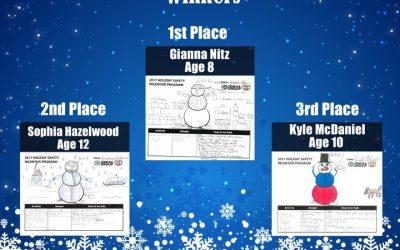 Congratulations 2017 Winter Safety Incentive Program Winners!