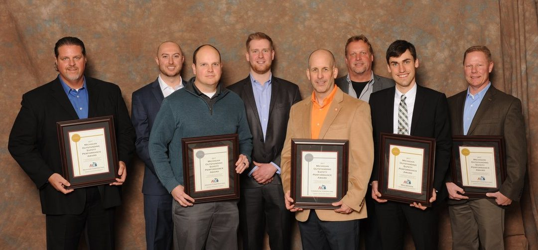 AGC Michigan Outstanding Safety Performance Award