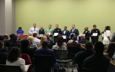 4TH Precinct Award Ceremony