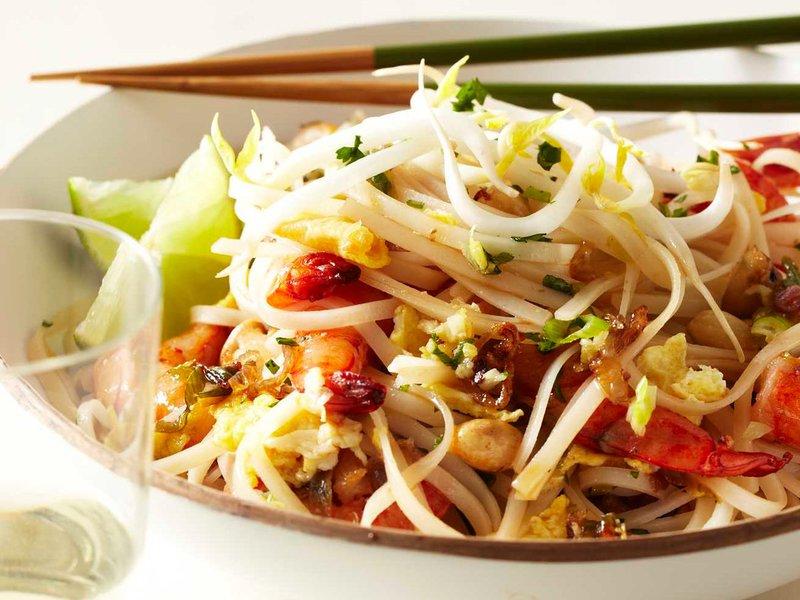 Quick Shrimp Pad Thai
